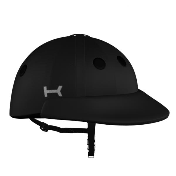 KRONO black polo helmet
