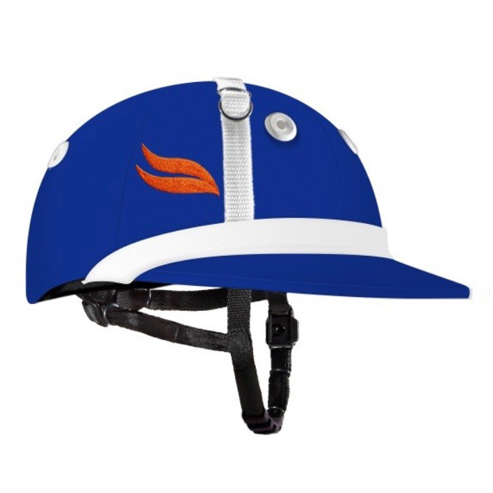 CASABLANCA POLO HELMET ROYAL BLUE