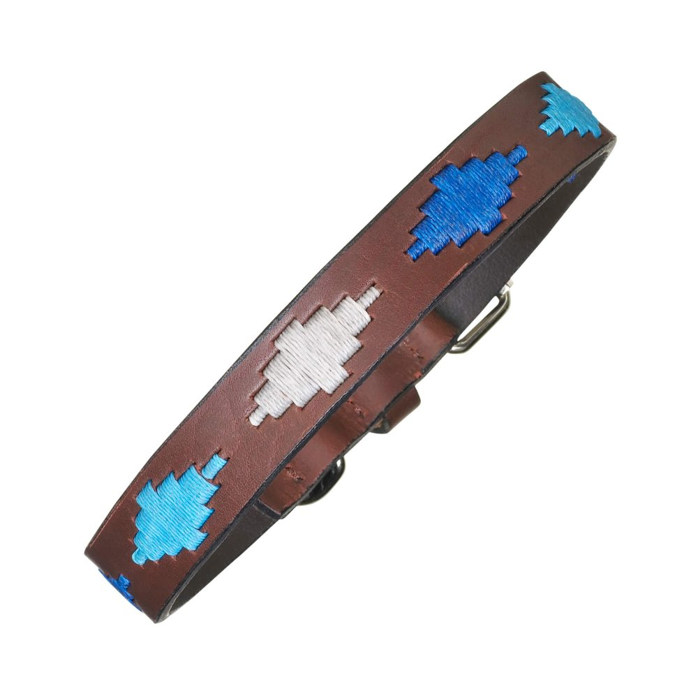 argentinian leather polo dog collar blue cielo 1000x1000