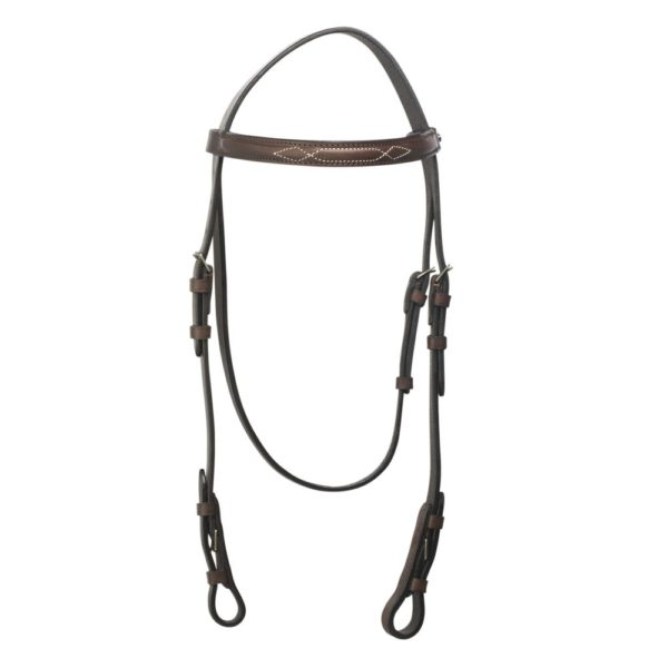 polo equipment brown leather headpiece 1 1000x1000