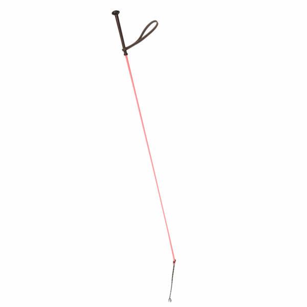 polo equipment long polo whip pink 1
